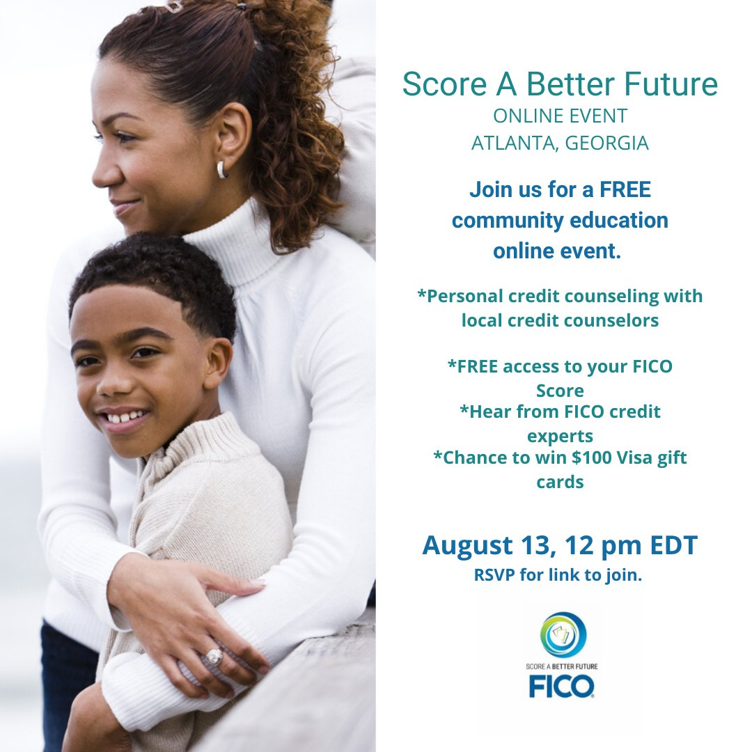 It's not to late to register! Do It NOW! hhttps://bit.ly/2Bmulpj #SABF #credit #personalfinance #financialliteracy #financialfreedom #financialhealth #creditscores #creditscore #FICOscores #FICOscore #1MornigstarInc #ATL #ATLevents https://t.co/AX0nLokieI