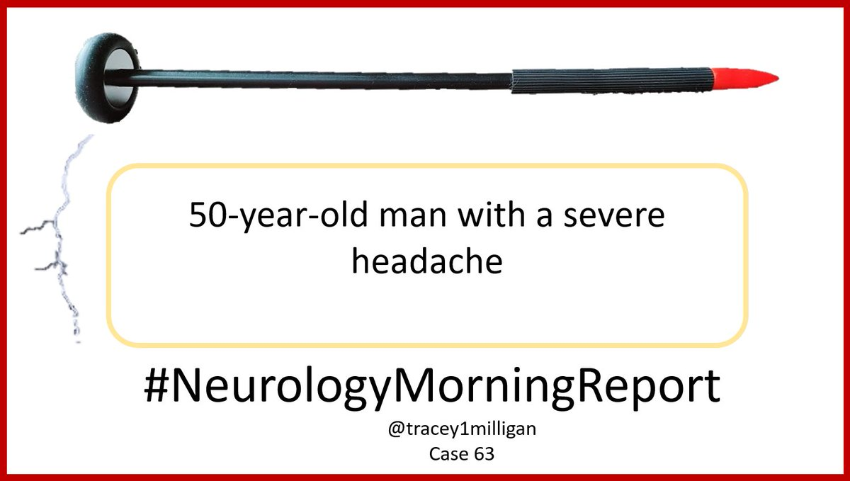 #NeurologyMorningReport #NMR Case 63 #MedTwitter #NeuroTwitter Updates & Answers posted later today. Asking your help #MedEd #neurology #neurologyresident #neurologist #medstudent #NeurologyProud #MedStudentTwitter Join me in educating. Share your questions and knowledge.