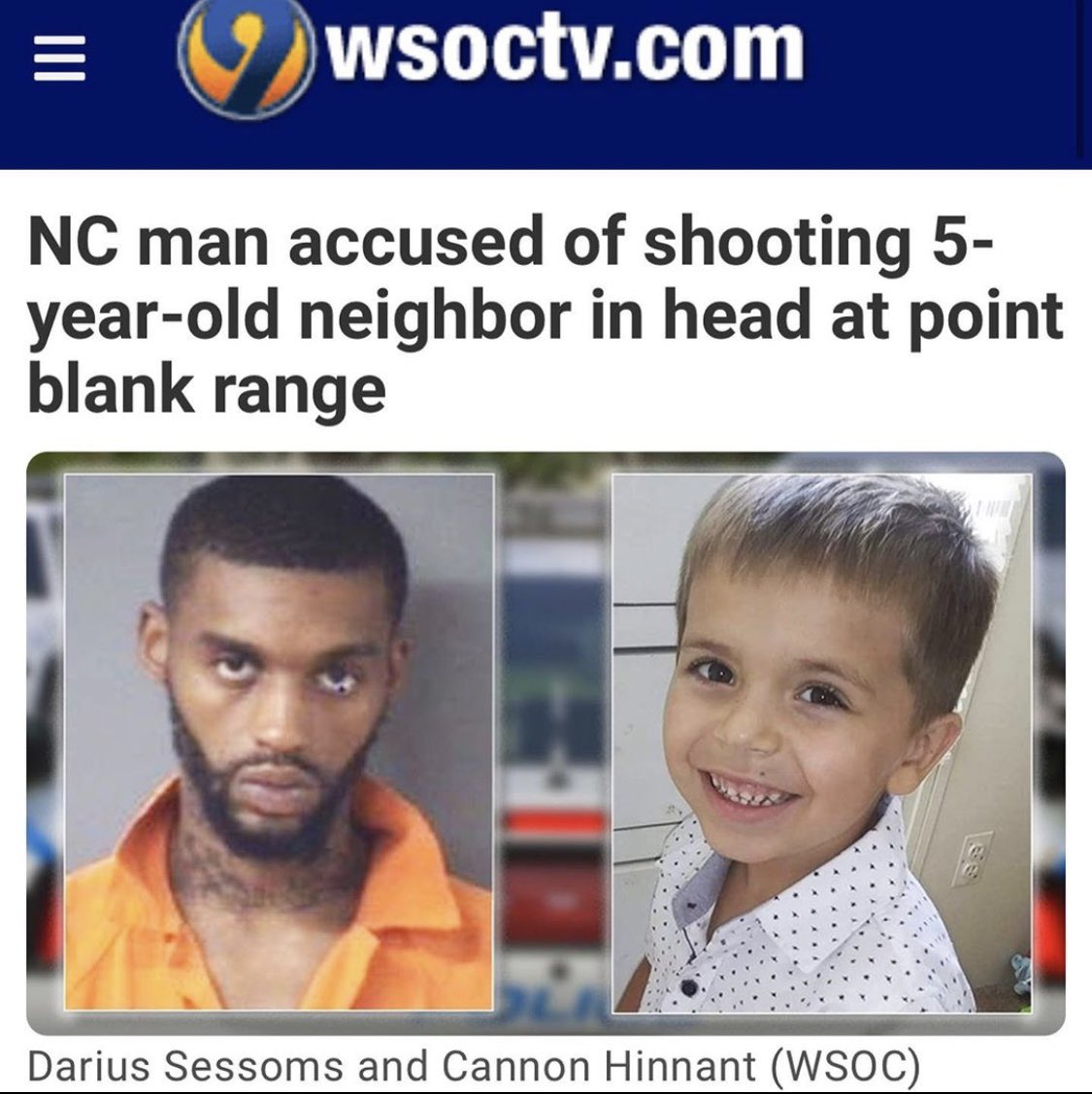 5-yr-old Cannon Hinnant was executed point blank in front of his 2 sisters in broad daylight while they were riding bikes. Because a violent criminal felt like shooting a boy in the head.  National media remains SILENT on this heinous murder.   It doesn't fit their narrative. https://t.co/uyX4zReX3t