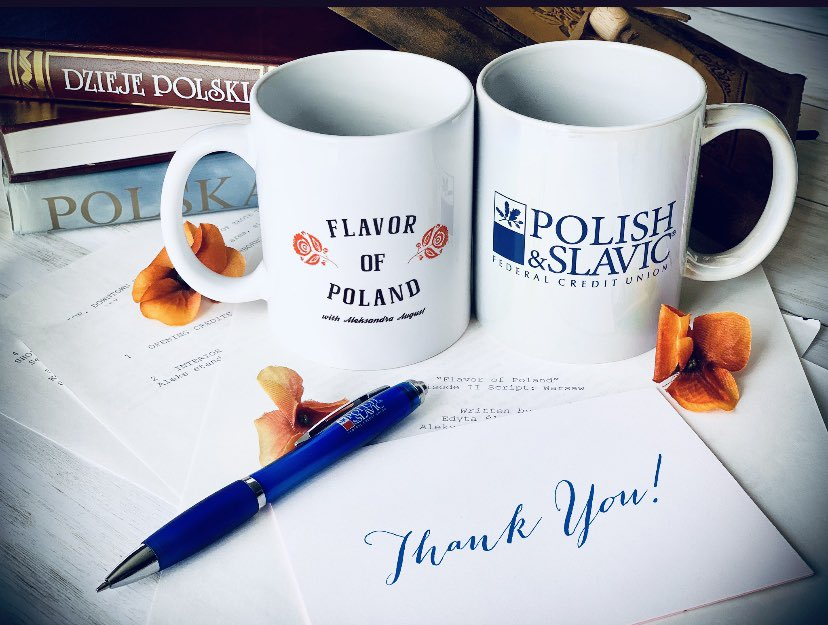 Special Thanks🌹to our #sponsor, @PolishSlavicFCU for their #support of the @FlavorOfPoland #project from the very beginning! We can't have done it without you! Thanks for helping us bring #Poland closer to the homes and hearts of millions of #American #TV viewers! ✨🇵🇱👉🏼📺🇺🇸.