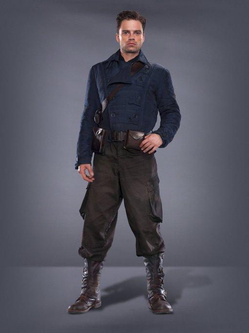 Happy birthday to Sebastian Stan aka Bucky Barnes/The Winter Soldier!!