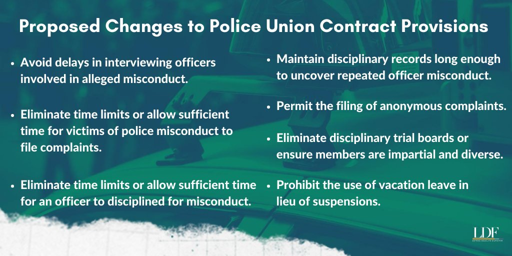 If we continue putting pressure on officials and continuously beating the drum to end impunity for officer misconduct, we can dismantle policies that shield officers from the consequences of unlawful policing.  To access the toolkit, click here: https://t.co/1roQhe4nuF https://t.co/wlIOYWWeSM