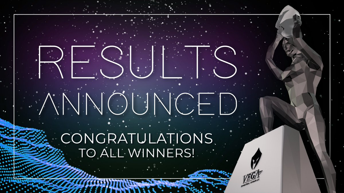 2020 VEGA Digital Awards Season 1 Winners Posted!  To all our new #VegaAwards winners, congratulations! You have now officially an innovators of the digital frontier, one whose ideas and concepts have Created History.  Browse winners: https://t.co/PwlAdG227f  #Website #digitalart https://t.co/1rIGn9OAyh