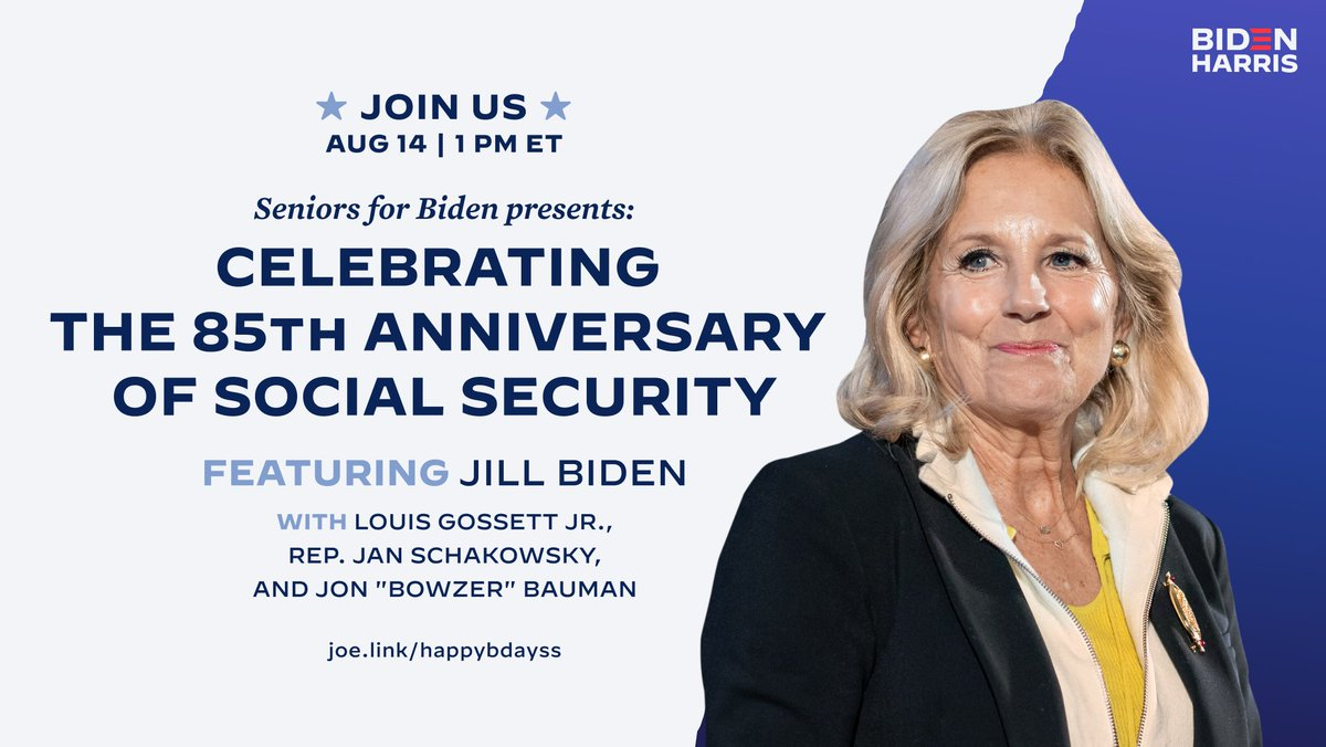 For 85 years, Social Security has ensured that Americans enjoy a retirement with guaranteed peace of mind. As COVID-19 threatens the futures of older Americans, that right has never been more vital. And yet, it has never been more vulnerable. Join us: mobilize.us/joebiden/event…