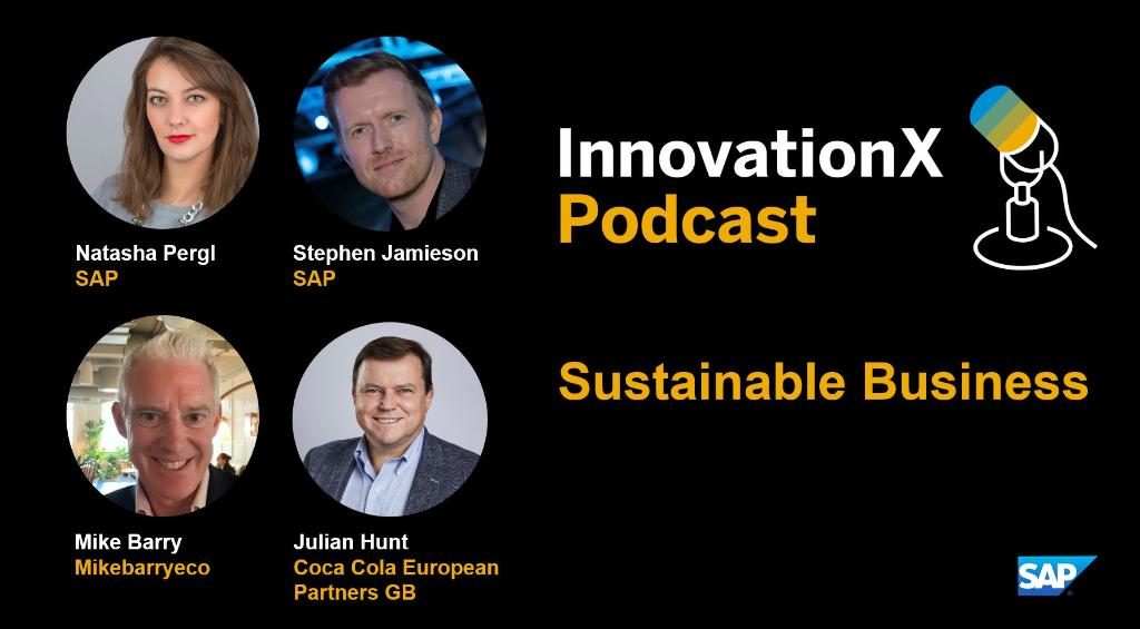 Sustainability is an essential focus for all organisations, but demands innovation across industries. Listen as experts @natashapergl @stephenjamieson and @planamikebarry discuss the power of #SustainableBusiness in the #InnovationX podcast https://t.co/vnjk9mHPhE https://t.co/N9d4zSHqYc