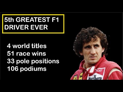 Watch below to find out why we think Alain Prost is the 5th greatest F1 driver of all time!   #Formula1 #F1  https://t.co/h6T4jcVX09 https://t.co/9Z5LUlsY5Z