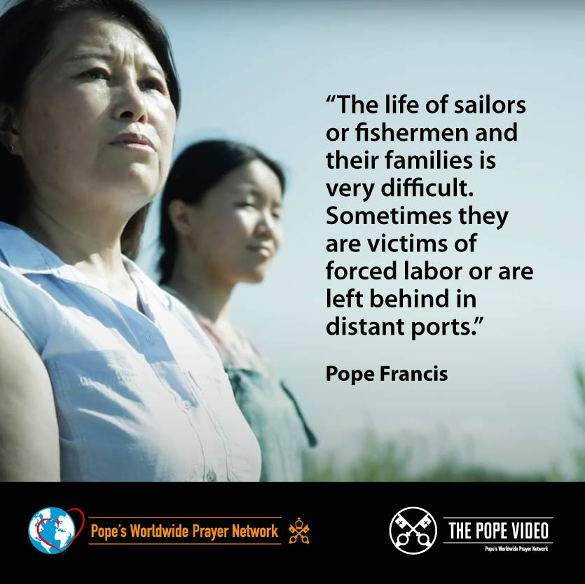 Fishermen and sailors face more dangers than just storms at sea. @Pontifex reminds us that the threat of piracy and poor working conditions make their work even harder. #ValuePeople #ThePopeVideo #PrayForSeafarers @StellaMarisOrg youtube.com/watch?v=PVOf65…