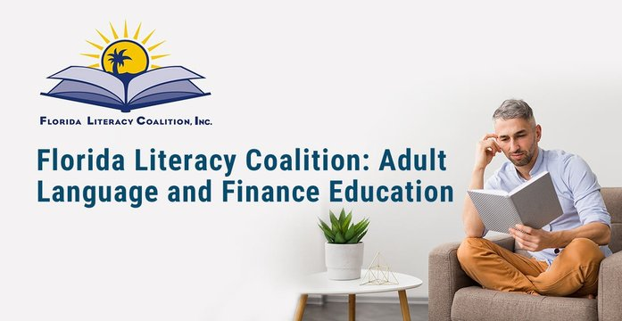 Education is crucial in financial stability, but many adults lack or don't know where to turn for access to resources. The @FloridaLiteracy Coalition provides literacy materials and training to teachers and tutors who work with adult learners. Read more: https://t.co/vZXvgXPOKF https://t.co/Gw5F3gQiJZ