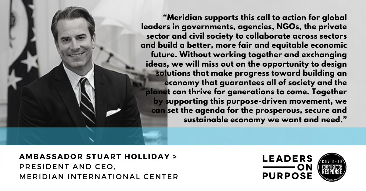 We believe in building a more fair and equitable economic future. Read why @AMBSHolliday joined business leaders in committing to play a role in supporting the growth of a #PurposeFirstEconomy ⤵️ @Lead_on_Purpose https://t.co/uoQCtvRZVt https://t.co/rhRfSKbWhU