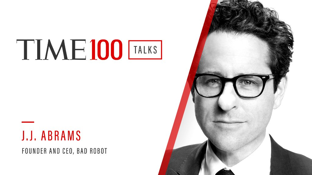 Join us today at 1 p.m. E.T. for a live #TIME100Talks with @jjabrams in a conversation about the future of education. Register now: https://t.co/ZnQxXOw1LA https://t.co/677twsvKMB