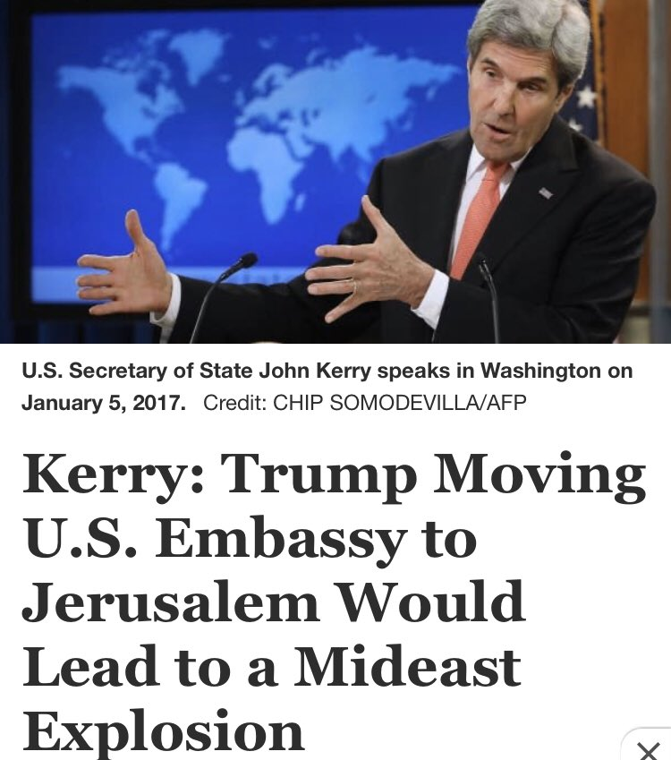 With today's announcement of a historic peace agreement between Israel and the UAE, I thought it would be a good time to go to the vault for all the hot takes that Trump's US embassy move to Jerusalem would never allow something like this.   🧵THREAD🧵