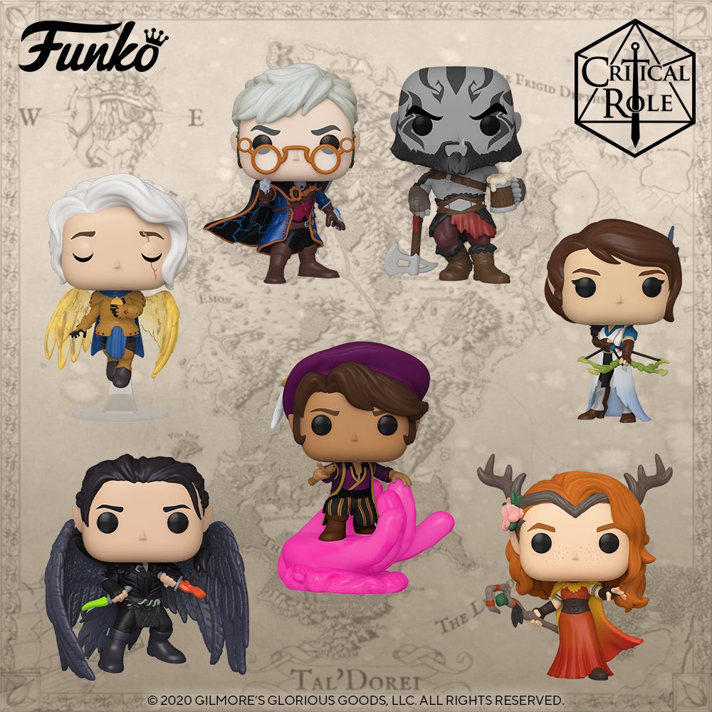 Coming Soon: Pop! Games: Critical Role - Vox Machina
