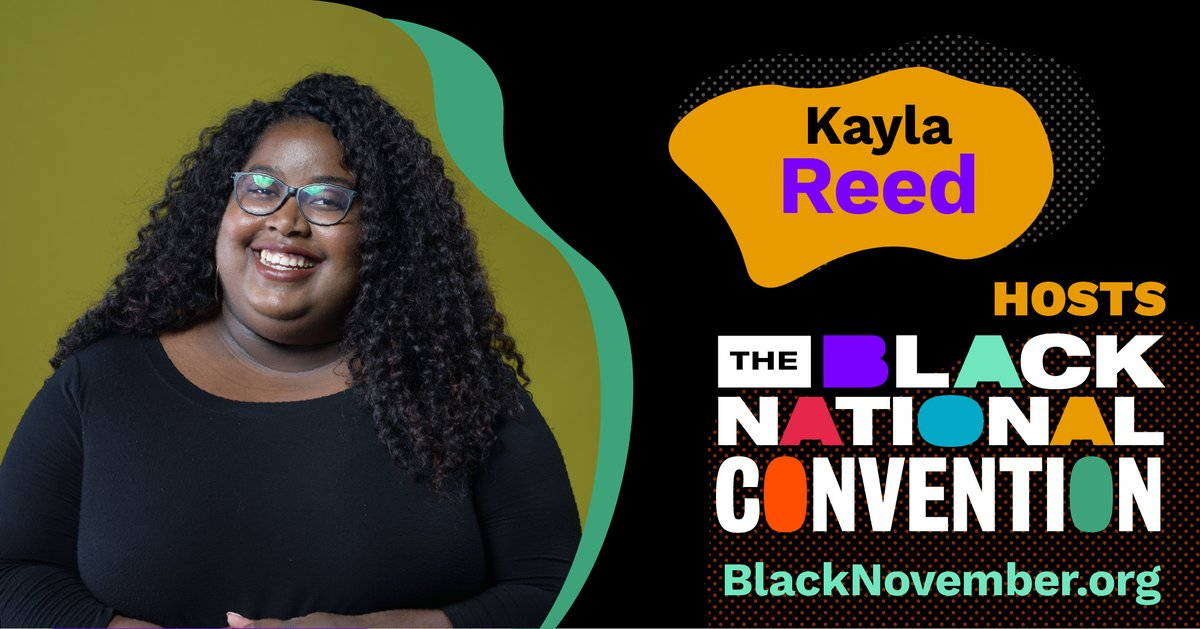 An electoral justice visionary, Kayla Reed (@iKaylaReed) is Co-Founder and Political Strategist of the Electoral Justice Project at M4BL which is putting on the 2020 BNC. Her activism was born in the streets when she co-founded Action St. Louis during the 2014 Ferguson uprising.