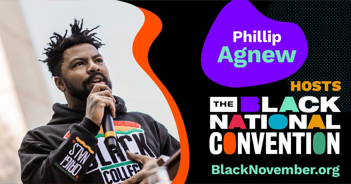 Dubbed one of this generation's leading voices, Phillip Agnew (@philsomething) cofounded the Dream Defenders in 2012 after the murder of Trayvon Martin. He is a nationally recognized educator, strategist, trainer, speaker, & cultural critic who recently launched Black Men Build