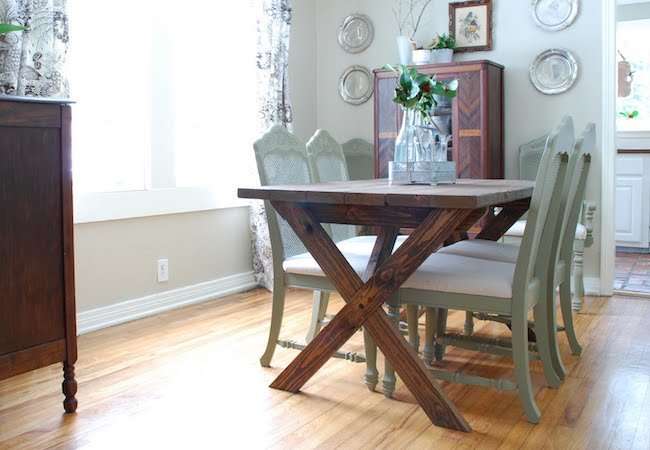 Whether you use this table indoors or outdoors, it's a project you can pull off. #DIY #lifestyle  https://t.co/hLjdOYprfs https://t.co/ehExrPid5T