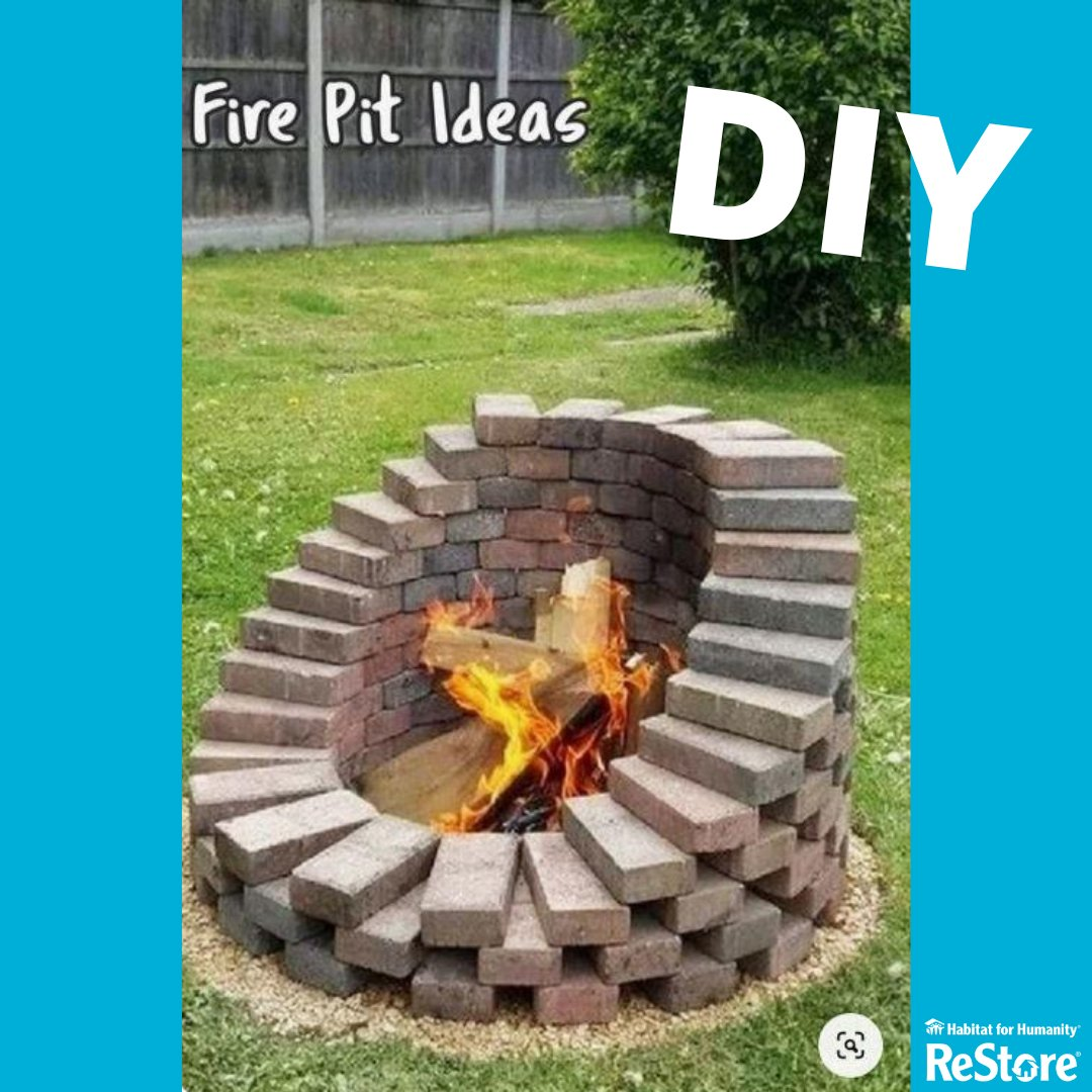 As there is no campfire ban in place, here some neat DIY backyard fire pit ideas!  Source- https://t.co/pClPt77Fg8 #DIY #backyardfires #upcycle #VictoriaReStore https://t.co/VoZXT0x5Zd
