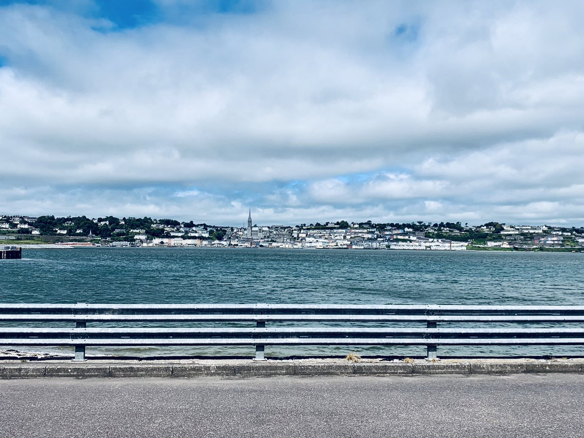 @DiscoverIreland My beautiful hometown of Cobh taken from @SpikeIslandCork in July! @CobhTourism https://t.co/Vo0CKmYmpA
