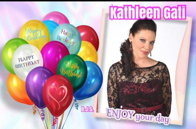 Love her! Happy birthday Kathleen Gati