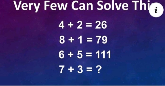 """@tholuinspire: Very Few Can Solve This Challenge Problem 👇👇👇👇👇  @Gidi_Traffic https://t.co/fupP3h9qpc"