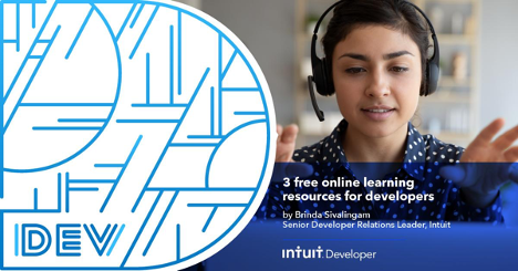 Learning for learning's sake and learning to advance your career are worthy goals. @Intuit Senior Developer Relations Engineer Brinda Sivalingam examines three #developer training tools that can help you grow your skill set. Learn more > https://t.co/A87A08Gk16 #IntuitTech https://t.co/ALRo9nRV7p