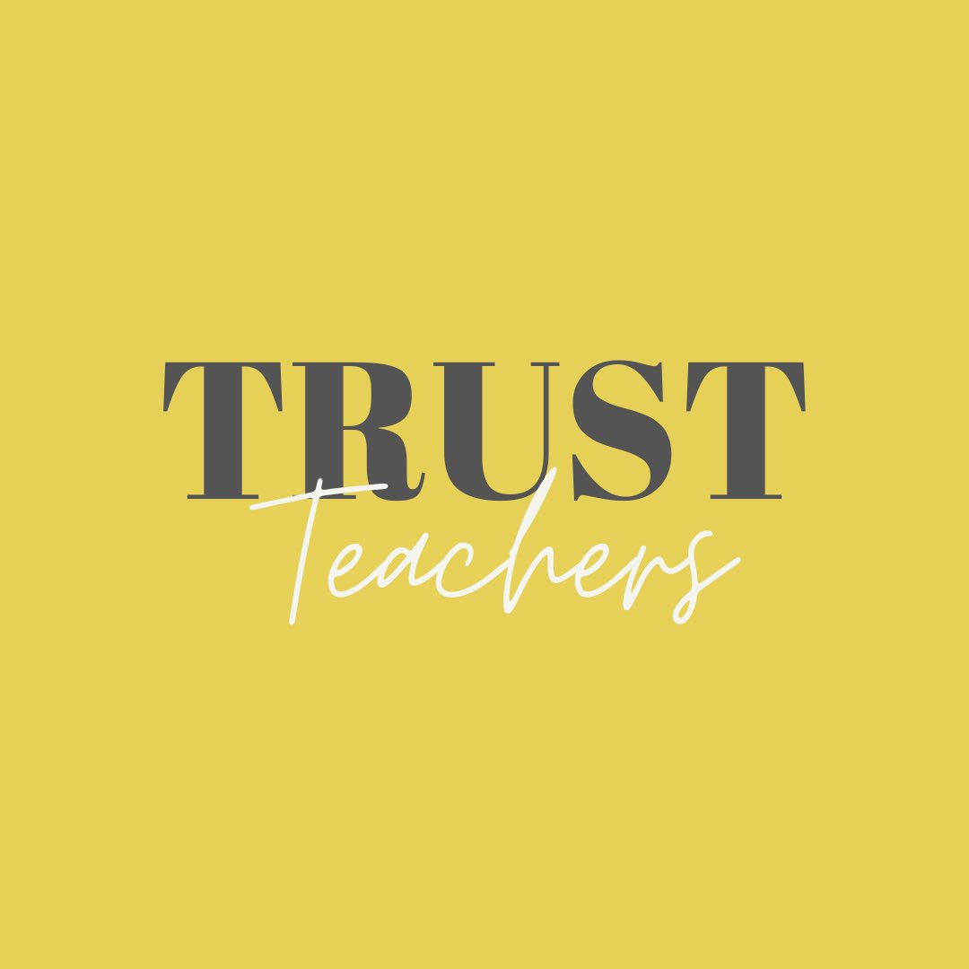 #TrustOurTeachers https://t.co/b2SzqHTezc