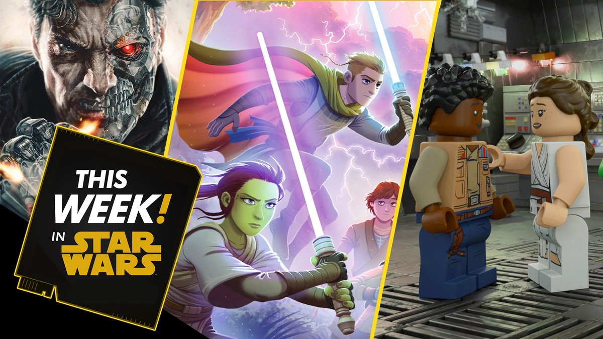 #ThisWeekInStarWars, we share news on the brand-new LEGO Star Wars Holiday Special, sneak peeks at upcoming books and comics, and much more! Presented by @GEICO. #ad