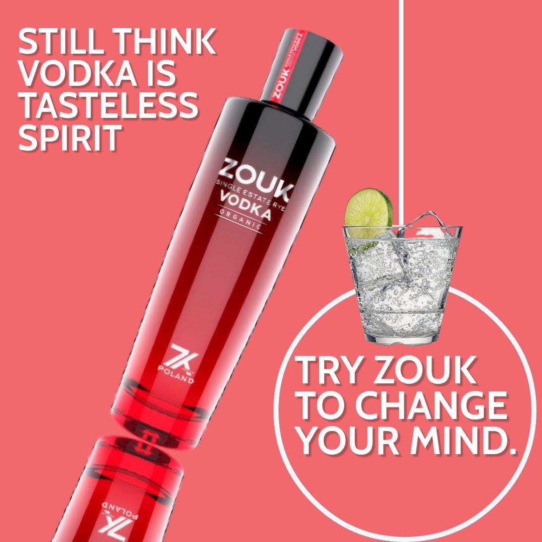 🍹LESS THINKING MORE DRINKING 🍹. #zoukvodka