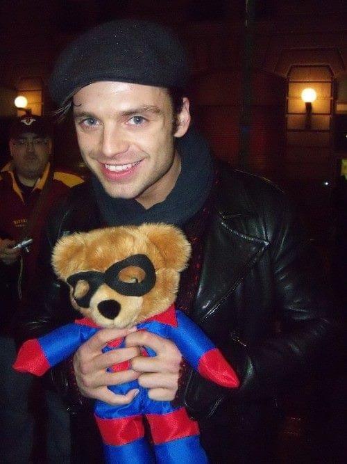 Happy bday Sebastian Stan!