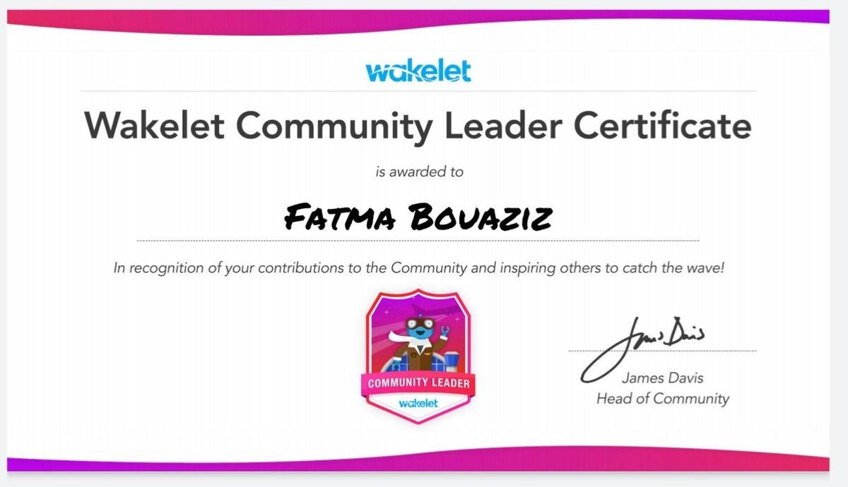 Very proud to be Wakelet Community Leader #Wakeletwave #MicrosoftEDU #MIEExpert