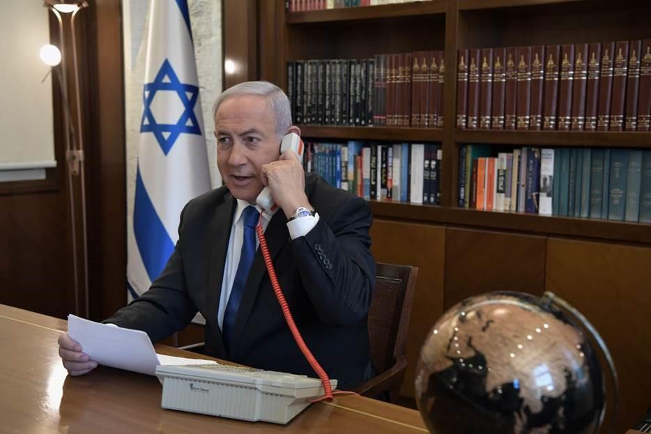 Israeli PM Netanyahu speaking to Trump and UAE leader Mohammed bin Zayed https://t.co/87Rte5ZFeH