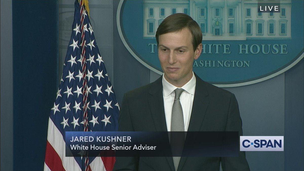 Jared Kushner on meeting with @kanyewest: Kanyes been a friend of mine...we got together and we had a great discussion...he has some great ideas for what hed like to see happen in the country... Full video here: cs.pn/342ZPgd