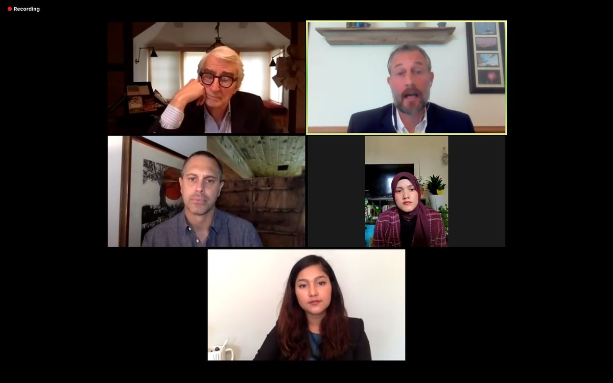 Listening now to @RefugeesIntl panel on why the US Government should issue a #genocide determination on the situation of #Rohingya in #Myanmar. Great to see @ThomasSadoski, Sam Waterston, @YasminJUllah, @waiwainu, and @EndGenocideDan. #CallitGenocide https://t.co/AWxMDCTKr3