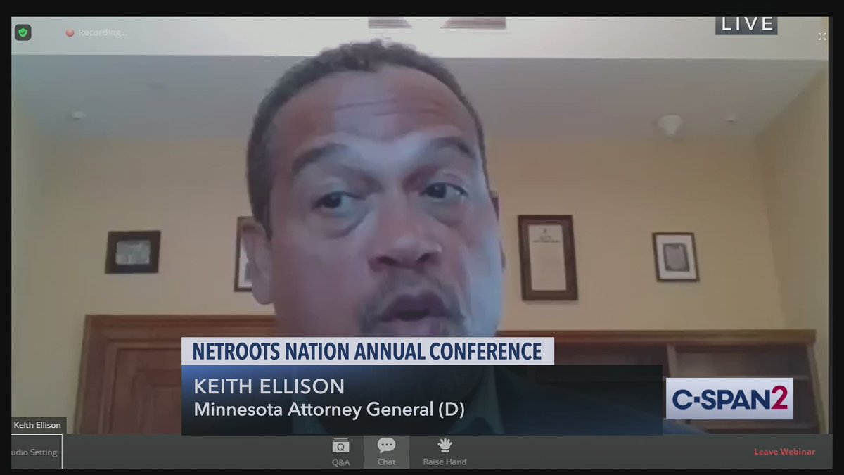 Democratic Attorneys General Discuss Racial Inequity at @Netroots_Nation Conference #NN20 - LIVE on C-SPAN2 cs.pn/2DHWCYJ