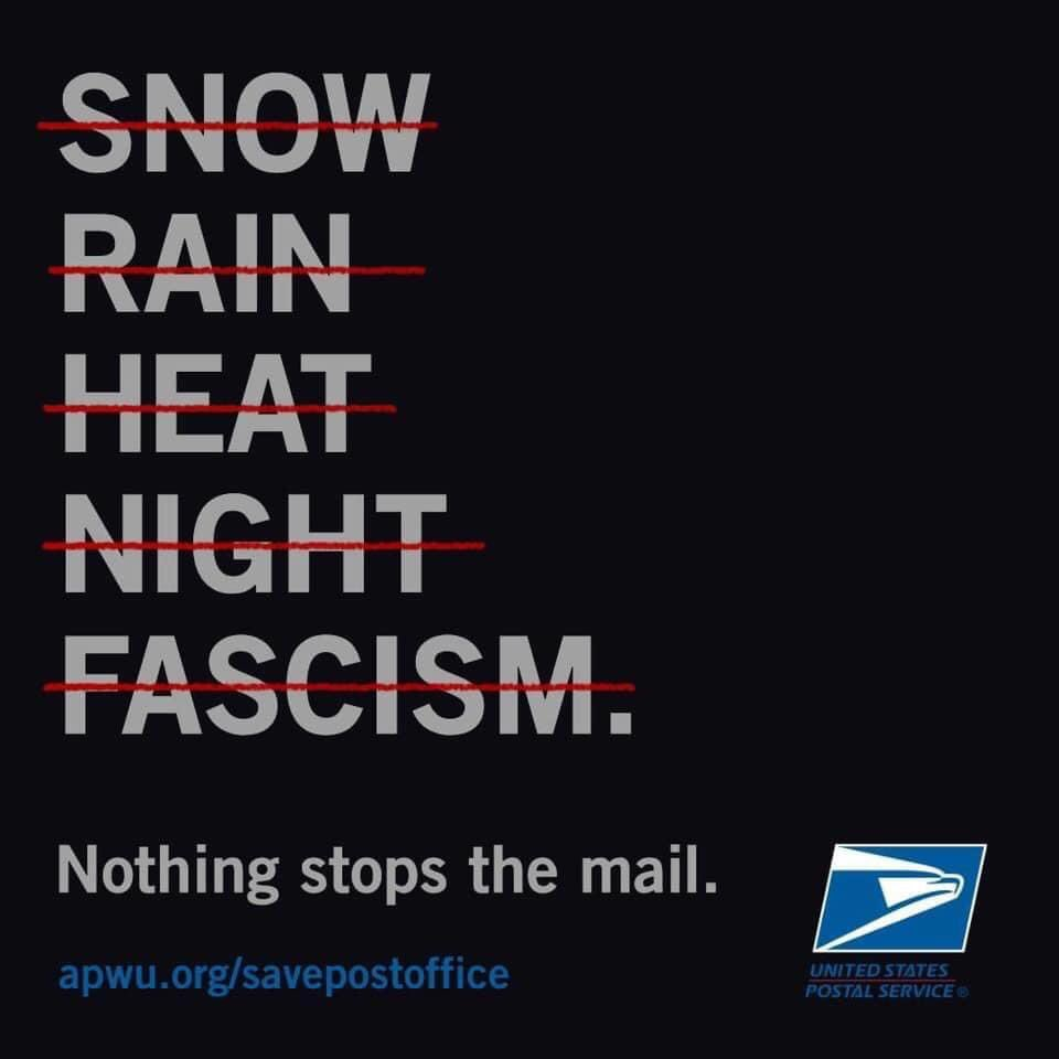 The Postal Workers Union is done fucking around.
