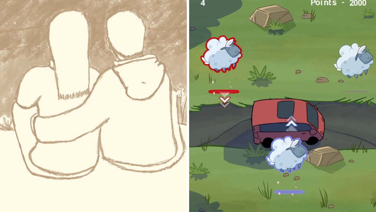 Play NYC Developers Share Semi-Autobiographical Visual Novel, Sheep Herding Puzzle Game hollywoodreporter.com/heat-vision/pl…