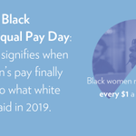 Image for the Tweet beginning: Nearly 40% of Black workers