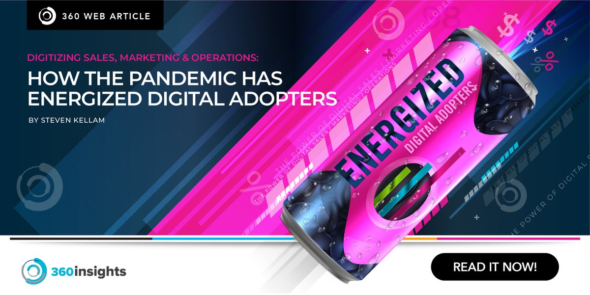 The pandemic has energized digital adopters. @360insights elaborates how in their latest post. Read it here: