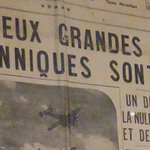 Image for the Tweet beginning: Dès le début de la
