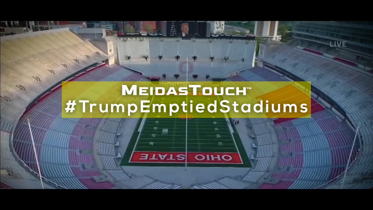 📺 NEW VIDEO Trump's empty words and failed leadership killed the equivalent of stadiums worth of Americans. #TrumpEmptiedStadiums