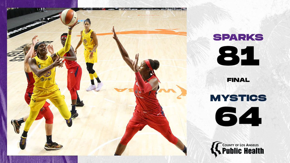 We're on a winning streak y'all 🙌   #GoSparks | #LeadTheCharge https://t.co/hYEwG1sEiy