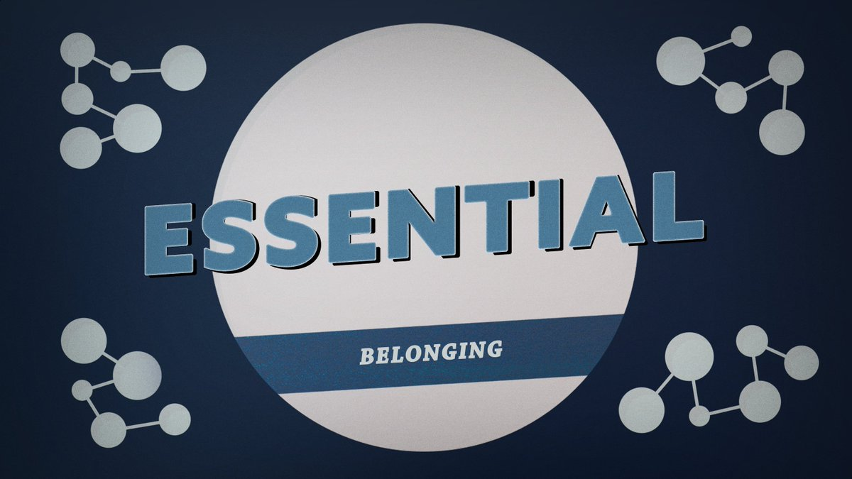 The church is not a place, but a people who belong to Jesus Christ and to one another. An #essential benefit provided by the Church is a sense of #belonging. Join us this Sunday at 8 or 9:30 am, online at https://t.co/Qx3r0bxmKl. https://t.co/k2XQ4aZThg