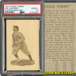 Image for the Tweet beginning: The 1914 Texas Tommy Joe