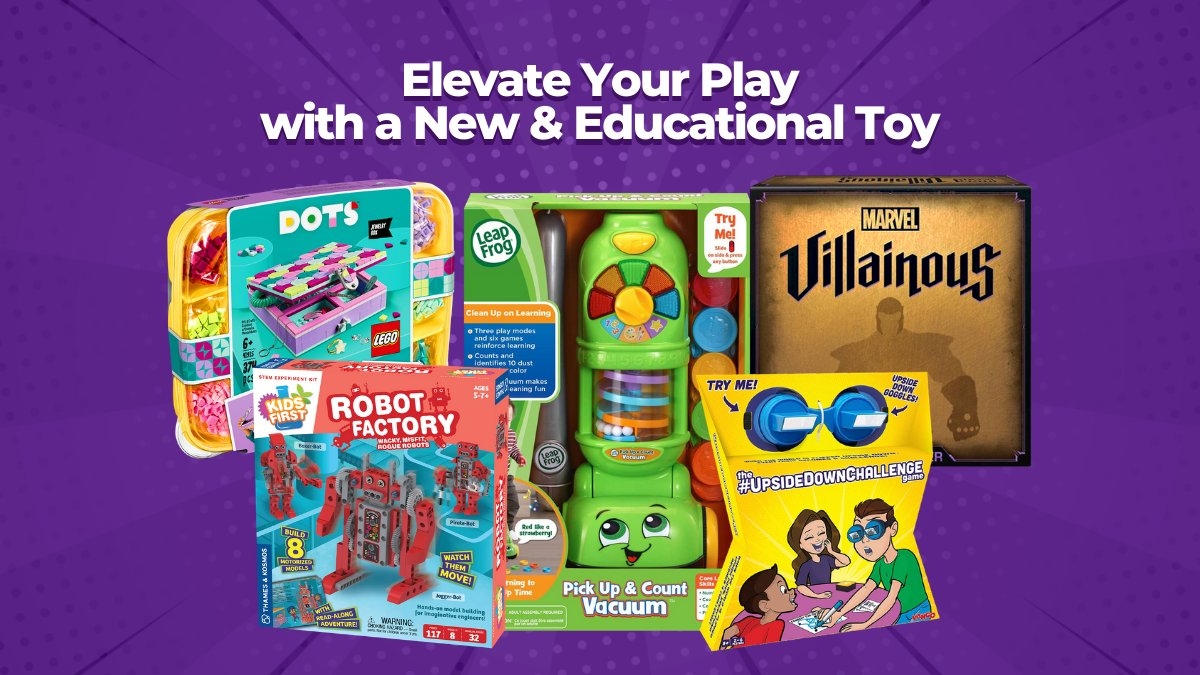 Your Online Canadian Retailer for Kids' Educational and Science Toys 🛍️ https://t.co/2IYPPVQ1sF ⁣ Not only do we offer the best brand name educational toys, but we also offer fast shipping to our customers across Canada. 🍁 #JrToyCompany #ToyCompany #BuyCanadian #EducationalToys https://t.co/xUgyz9ulkn