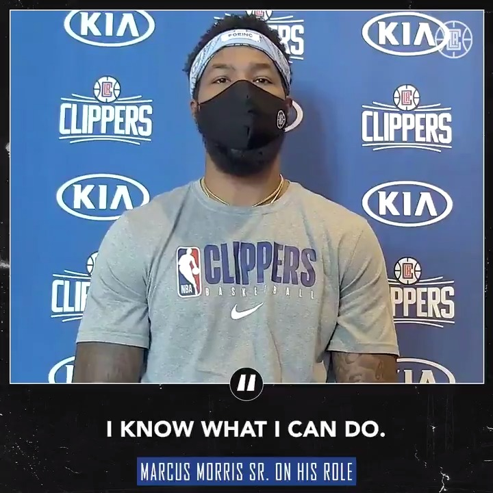 """""""I'm taking on whatever role on a nightly basis that's needed. If it's defending, if it's scoring, if it's just being a vocal leader and doing the dirty work, I'm all with it."""" - @MookMorris2 https://t.co/HZspp76sNg"""