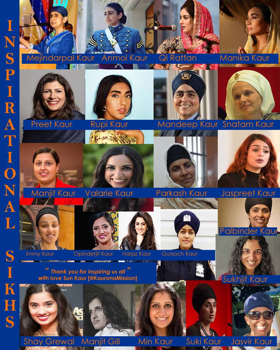 I admire all the Sikh men in this magazine for the splendid job they have done for the world to recognise who  Sikhs are. However @urbanmelange please remember this community has a backbone of courageous, powerful & successful KAURS  @Sikh24 @SikhPA https://t.co/r8uf0yY1gc