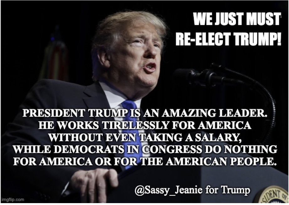 President Trump is an amazing World Leader! He puts America first, and yet he is able to help leaders of other countries obtain peaceful agreements. @JoeBiden would never be able to do half of the good @realDonaldTrump has done, and is doing. Please remember that when you vote.