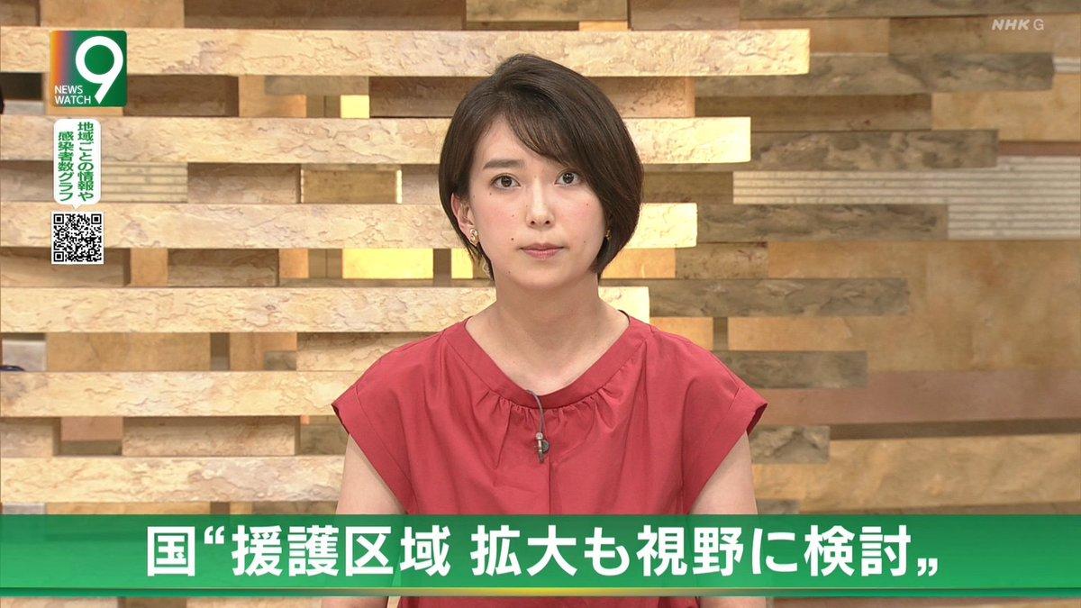 ショート 和久田 アナ