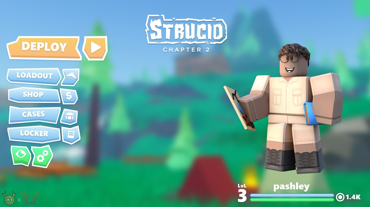 Roblox Strucid Twitter Codes On Twitter Designed Mockup Ui For Strucid With Passhley Made A Concept Logo Too Robloxdev Roblox