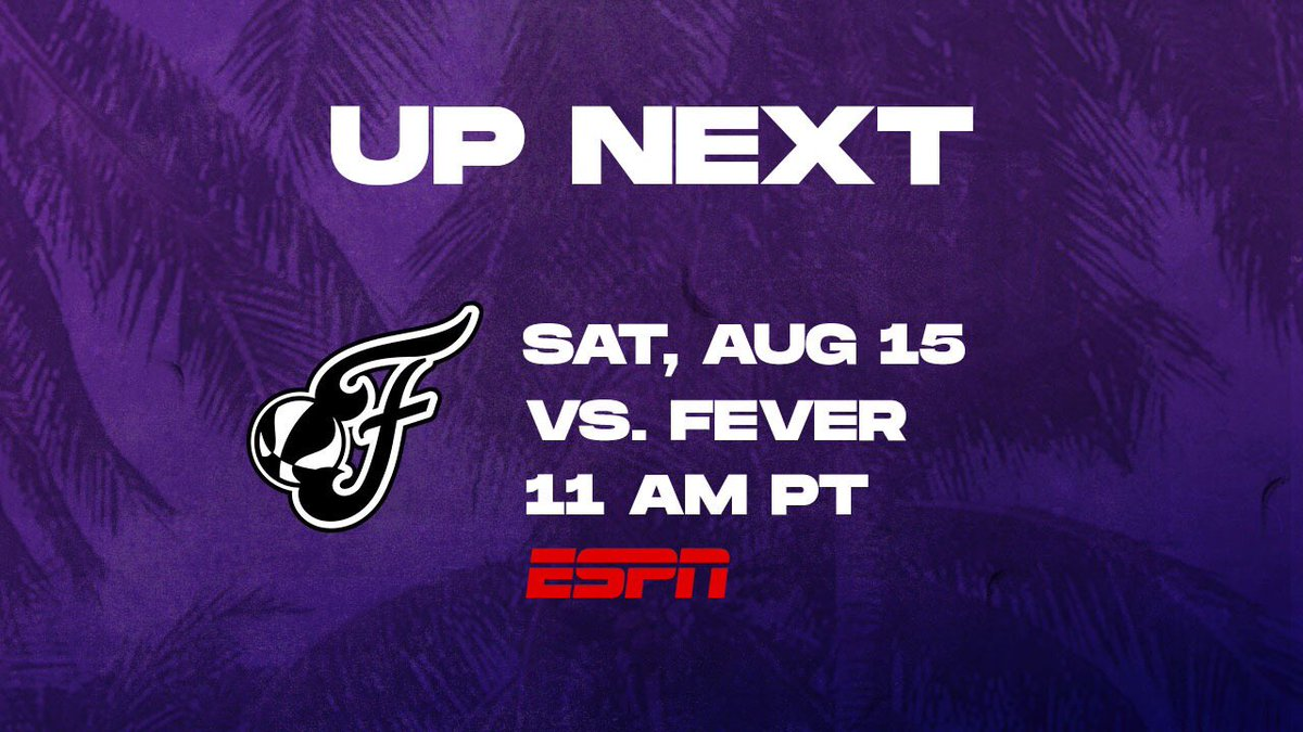 We have some morning hoops this Saturday! 💪  Game starts at 11AM PT on @espn 🔥  #GoSparks | #LeadTheCharge https://t.co/1KYqwtxZaT
