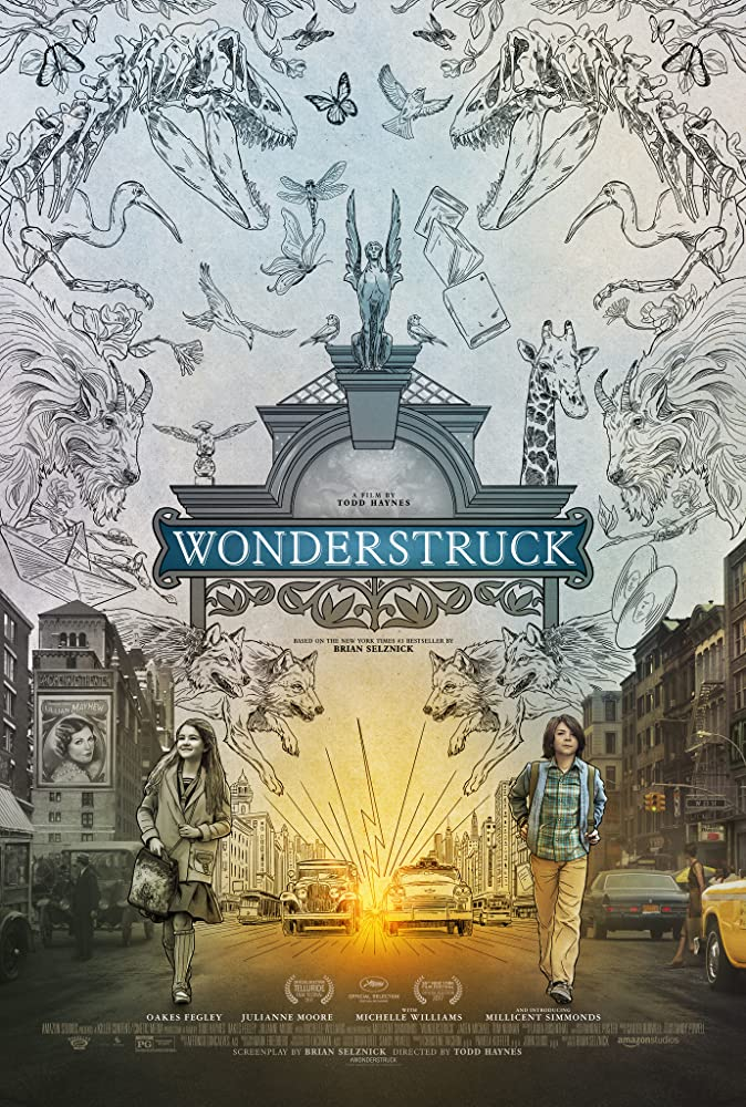 "Julianne Moore carries over to Movie 3,629 ""Wonderstruck"". 4 out of 10. Some interesting ideas here but the split 1927/1977 format became annoying very fast. More exposition, please.  #oakesfegley #millicentsimmonds #Museums #runaways #mystery #deaf #NYC  https://t.co/XafUmsGFsp https://t.co/ru9DjJ4JY0"